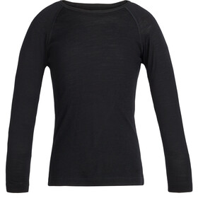 Icebreaker 200 Oasis LS Crew Top Kids black